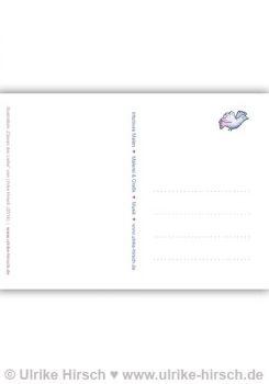 """Postkarte """"Ozean der Liebe"""" (Rückseite)"""