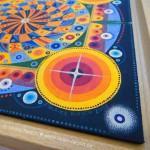 """Mandala """"Universum"""" (Detail)"""