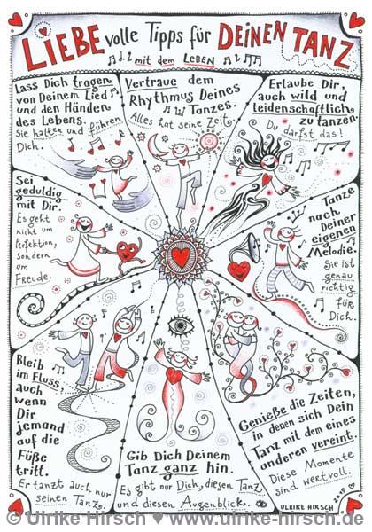Liebevolle Tanztipps
