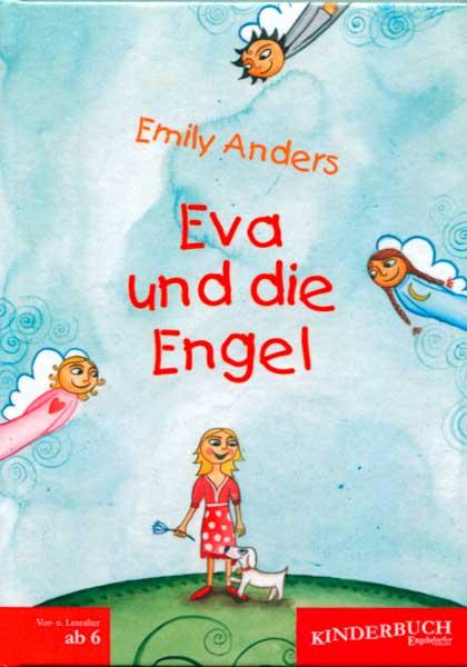 """Vorderseite des Buches """"Eva und die Engel"""""""