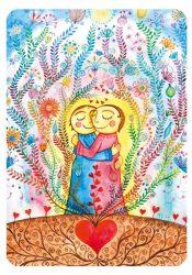 """Segenskarte """"Ich liebe dich"""""""