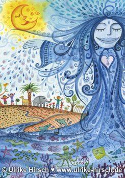 Engel des Wassers (Ausschnitt)