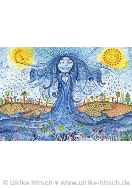 Engel des Wassers