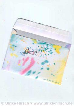 Klappkarten-Umschlag hinten