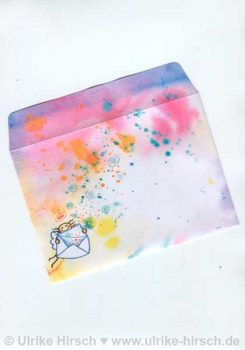 Klappkarten-Umschlag vorn