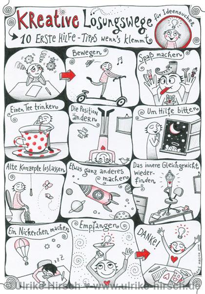 Kreativtipps für Ideensucher