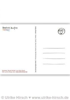 "Postkarte ""Bunter Haufen"" (Rückseite)"