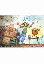 "Postkarte ""Weckruf des Herzens"""