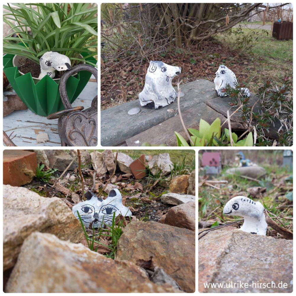 Steintierchen im Garten