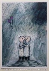 Umarmung im Regen (limitierte Auflage)