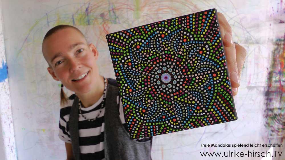 Freie Mandalas | ULRIKE HIRSCH TV