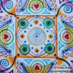 Feines Mandala II (Detail)