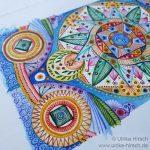 Feines Mandala I (Detail)