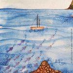 Meer auf Mallorca (Ausschnitt)