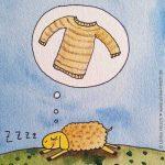 Schaf-Traum (Ausschnitt)