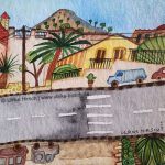 Straßenszene auf Mallorca (Ausschnitt)