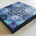 Blaues Mandala