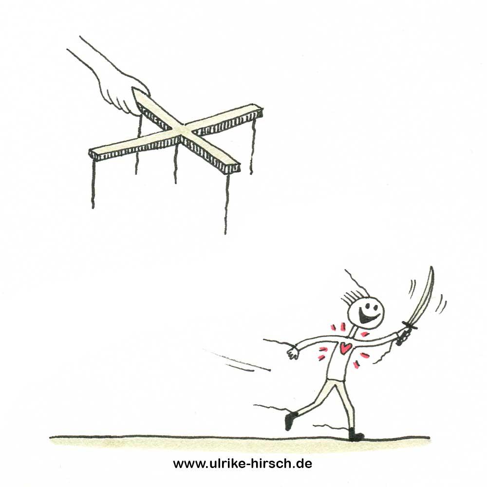 2021er Gedanken-Zeichnung #6 | Ulrike Hirsch