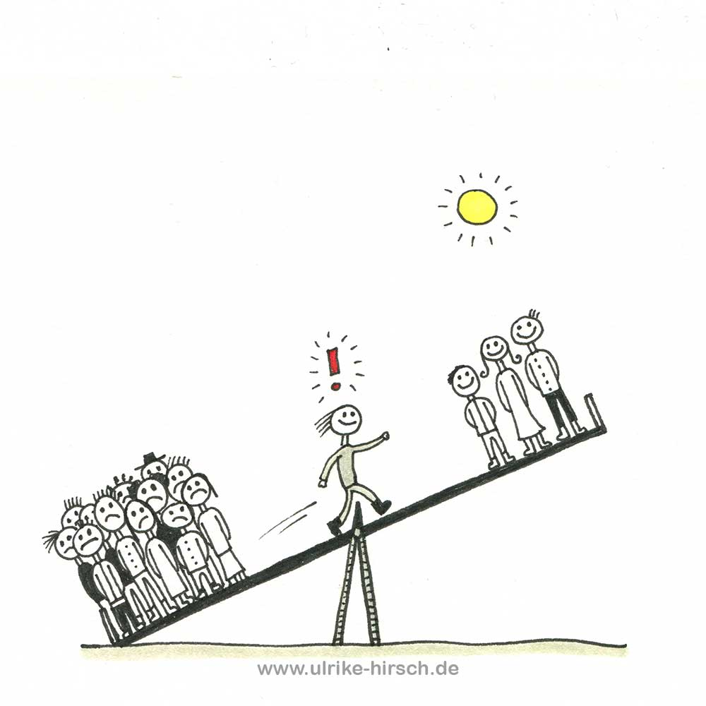 2021er Gedanken-Zeichnung #9 | Ulrike Hirsch