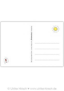 "Postkarte ""Entscheidung"" (Rückseite)"